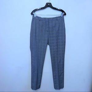 H&M Gray Plaid Skinny Pants